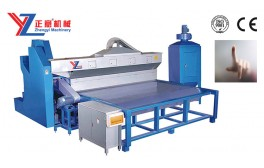Horizontal Glass Sandblasting Machine