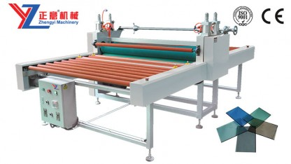 Automatic glass laminating machine