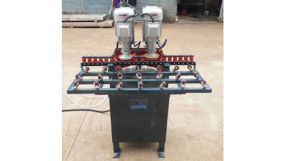 Manual glass edger machine