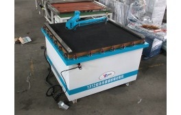 Shape glass manual cutting machine