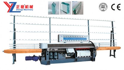 ZM11325-45° Glass straight line multilevel edging machine