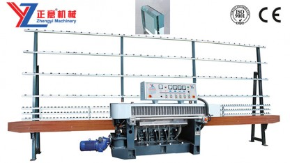 ZYM4320 Glass straight line round edging machine