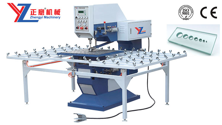 Automatic Glass Drilling Machine(PLC )