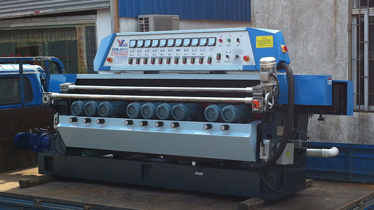 ZXM361 Glass straight line beveling machine start to sent to customer's factory